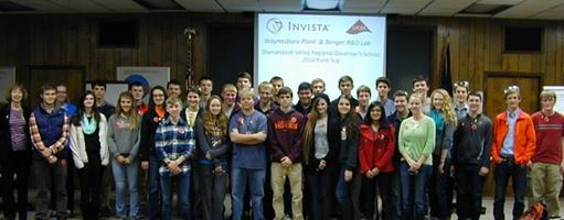 Students at Invista